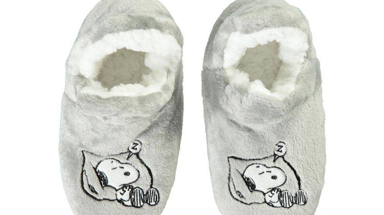 Zapatillas para andar por casa. (Cortesía)