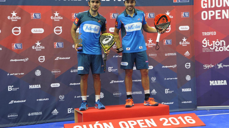 Belasteguín y Lima vencen en el Gijón Open y siguen coleccionando títulos