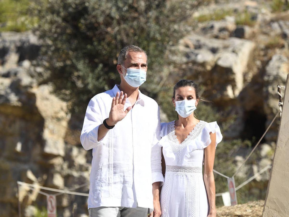 Foto: Felipe y Letizia en Ibiza. (Limited Pictures)
