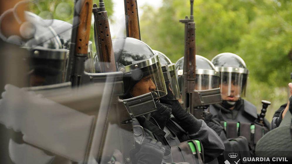 Foto: Un grupo de GRS de la Guardia Civil.