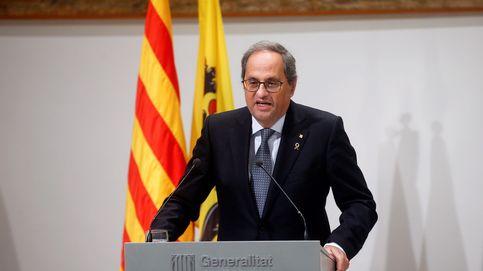 Torra promete impulsar una constitución catalana, más moderna y democrática