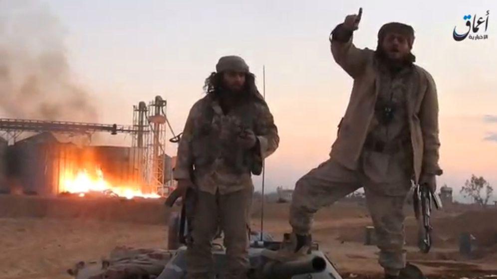 Foto: Captura de pantalla de un video de propaganda, presuntamente filmado en Palmira, el 11 de diciembre de 2016 (Reuters)