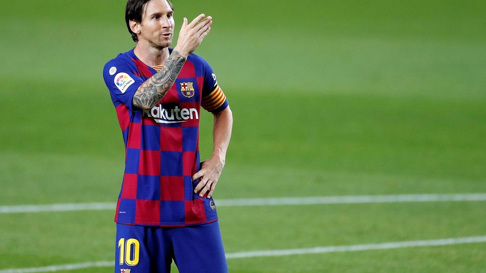 Foto: Leo Messi. (EFE)