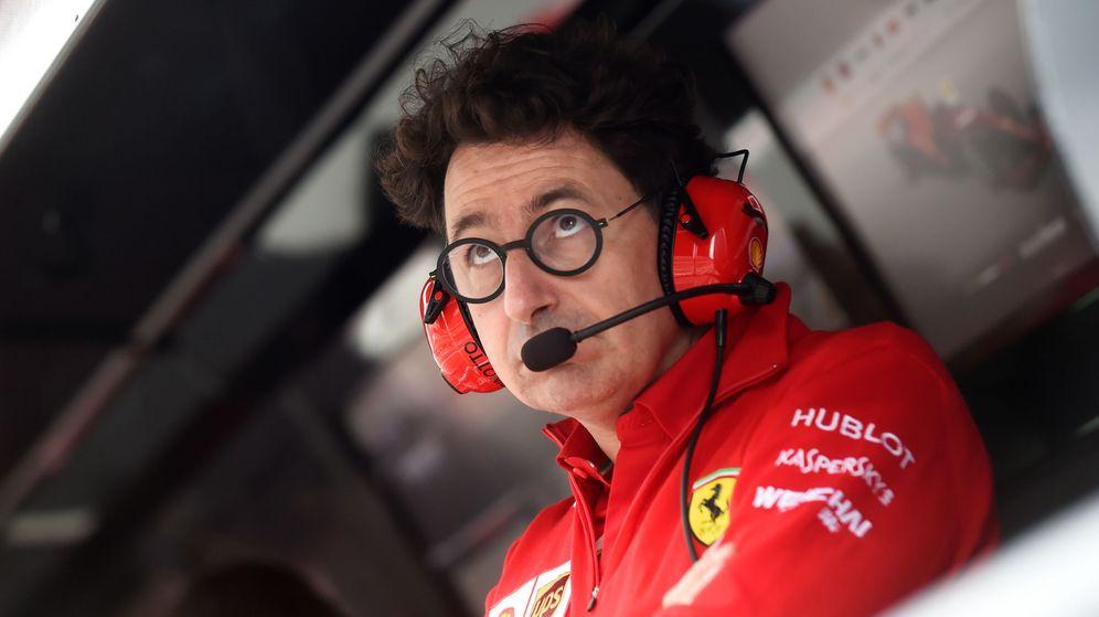 Foto: Mattia Binotto durante el GP de Italia del pasado año. (Reuters)