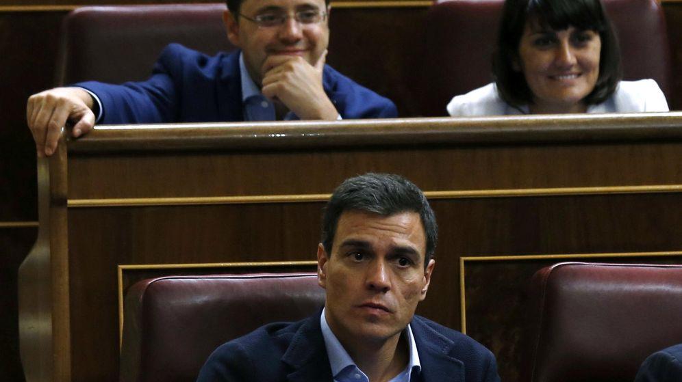 Foto: Pedro Sánchez, en el Congreso (EFE)