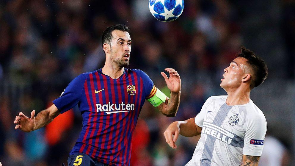 Busquets o lo único que chirría del Barcelona campeón de Liga