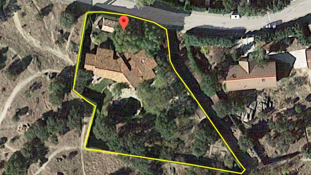 Foto: Vista aérea de la nueva propiedad adquirida por Pablo Iglesias e Irene Montero.