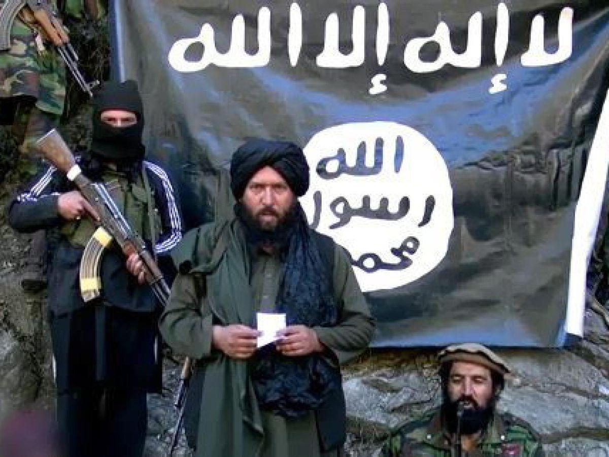 Foto: Imagen del exlíder del ISIS-K, Hafiz Saeed, muerto en 2015. (EFE)