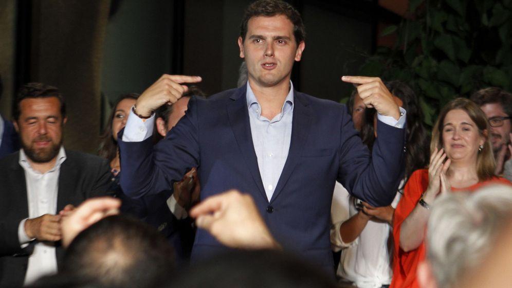 Foto: El líder de Ciudadanos, Albert Rivera (EFE)