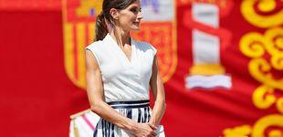 Post de El apoyo de la reina Letizia a una firma en bancarrota con su último look