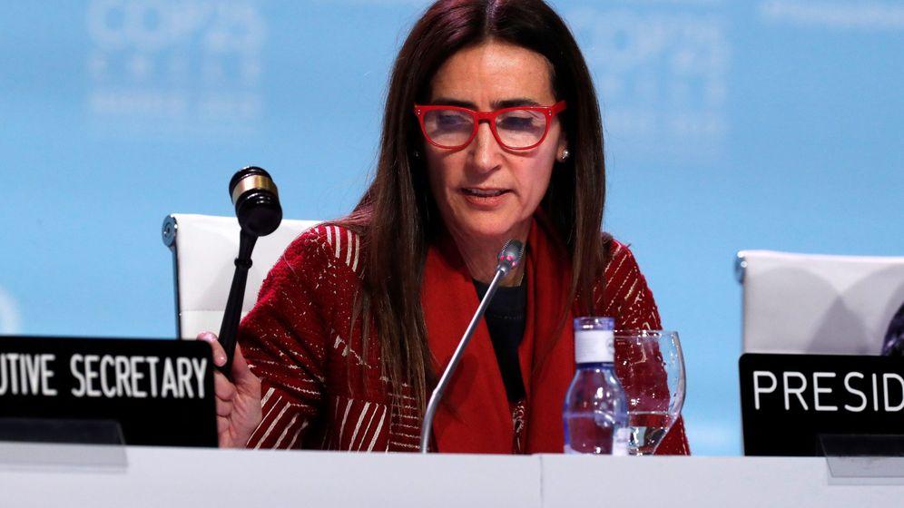 Foto: La ministra de Medio Ambiente de Chile y presidenta de la COP25, Carolina Schmidt. (EFE)