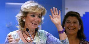 Foto: Aguirre ha gastado 855 millones en sufragar las pérdidas de Telemadrid