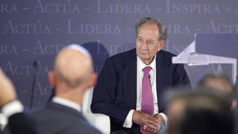 Foto: Juan Miguel Villar Mir, en el Georgetown Global Forum de 2014. (Gtres)