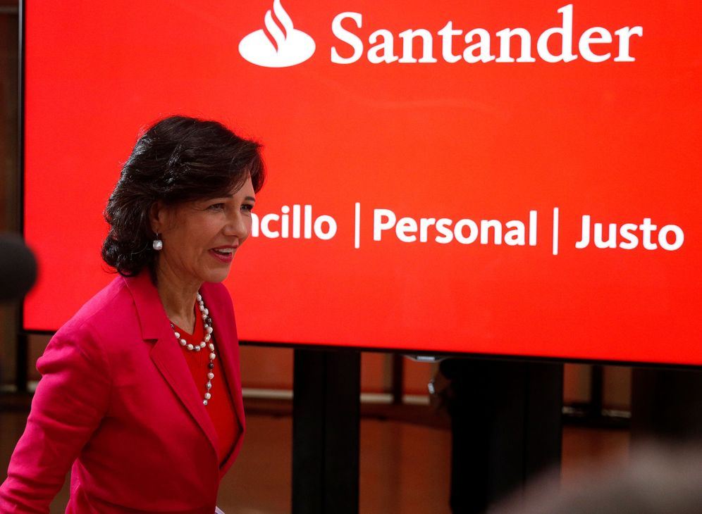 Foto: Ana Botín, presidenta del Santander.