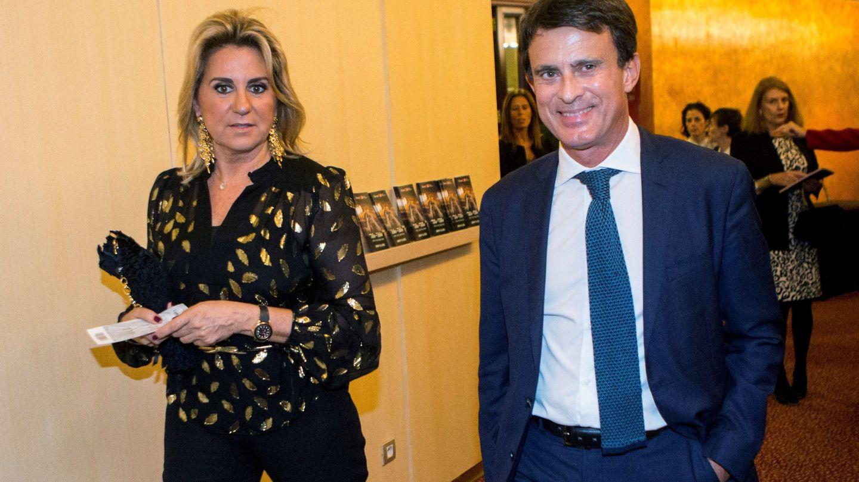 Susana Gallardo y Manuel Valls, en el Liceo de Barcelona. (EFE)