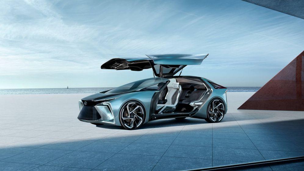 Foto: El futurista Lexus LF. (Carlos Cancela)