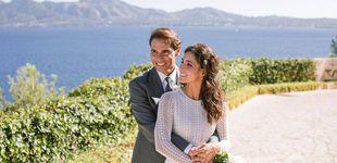 Post de Primeras imágenes oficiales de Rafa Nadal y Xisca Perelló como marido y mujer
