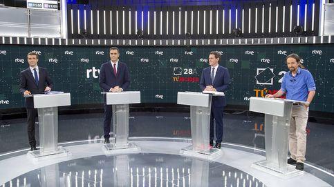 El menos visto: el debate electoral de TVE roza los 8,9 millones