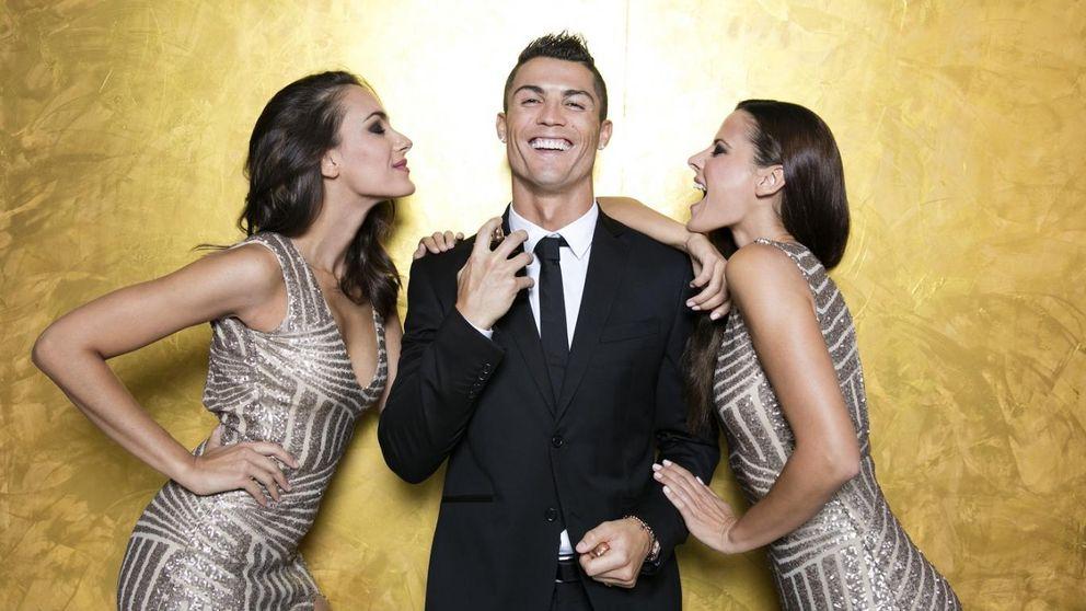Cristiano Ronaldo se deja seducir por la doble de Irina