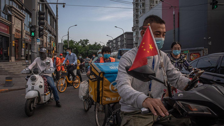 Calles de Pekín, China, el día de inauguración de la Asamblea Popular Nacional. (EFE)