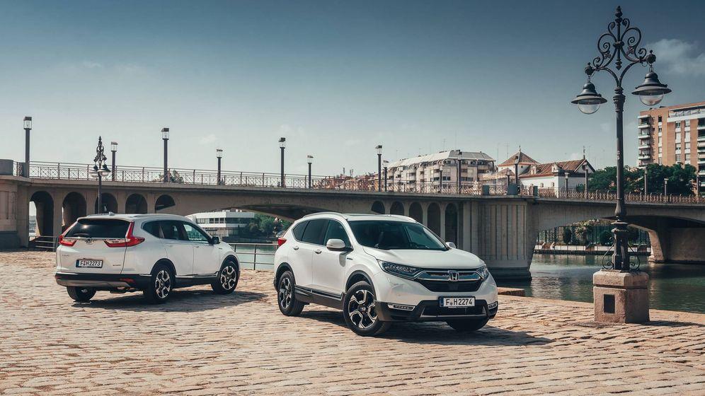 Foto: Honda, una marca muy tecnológica, lanza un nuevo concepto de híbrido en su todocamino CR-V.