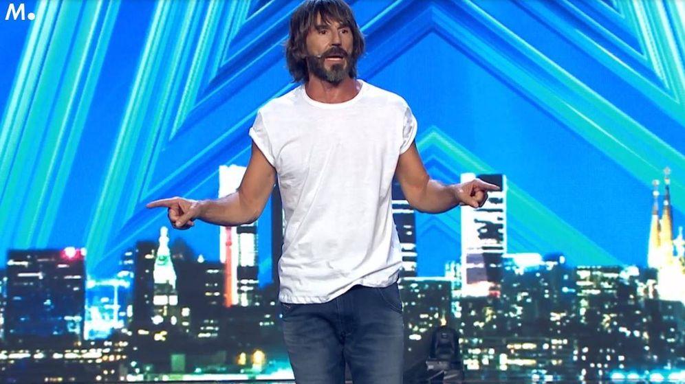 Foto: Santi Millán, en 'Got Talent España'. (Telecinco)