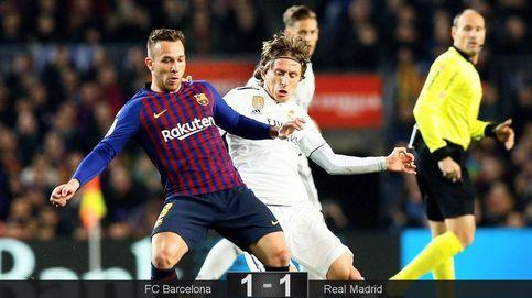 La 'pifia' del Real Madrid contra un Barcelona con medio Messi