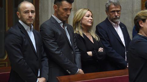 Jesús Vázquez y Trinidad Jiménez se despiden de Pedro Zerolo en Madrid