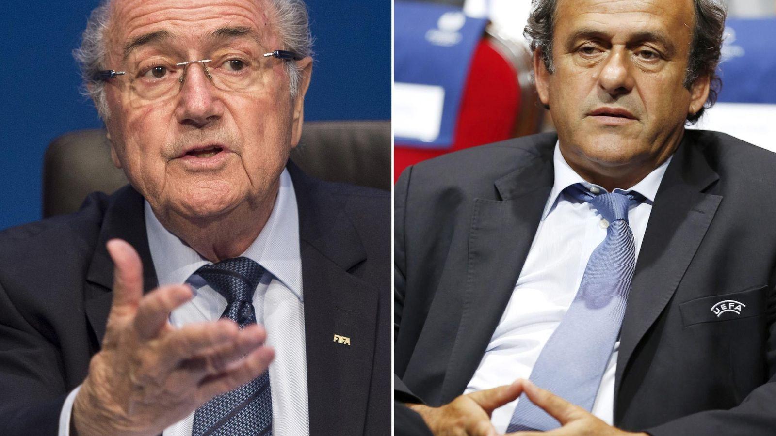 Foto: El 21 de diciembre se puede conocer la sanción a Blatter y Platini (Efe)