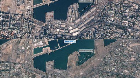 La devastación tras la explosión de Beirut: el antes y el después con fotos por satélite