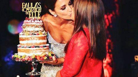 Paula Echevarría, otra famosa objetivo de las críticas por besar a su hija en la boca