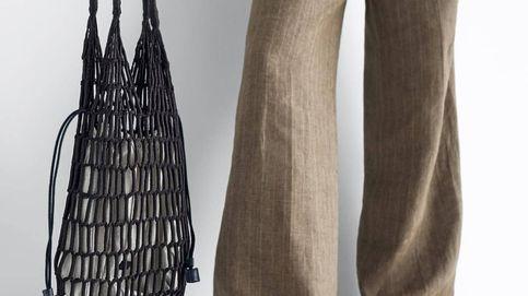 Échale la red (literalmente) al nuevo bolso de Massimo Dutti