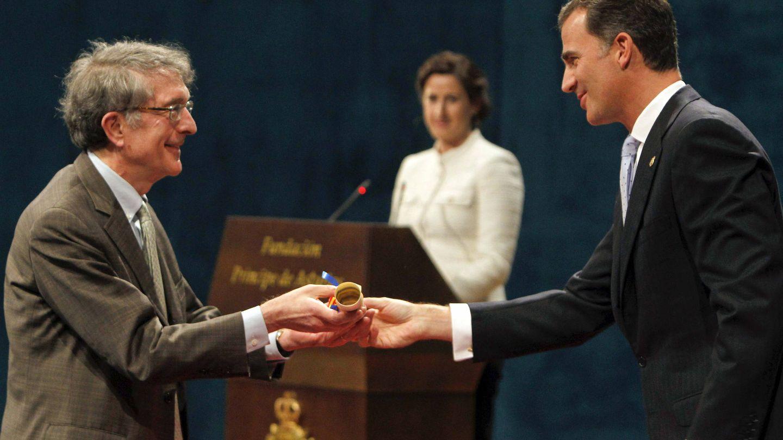 Gardner recoge el Príncipe de Asturias. (EFE)