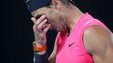 Rafa Nadal cae ante su espejo: Thiem lo borda en una épica batalla en cuartos de Australia