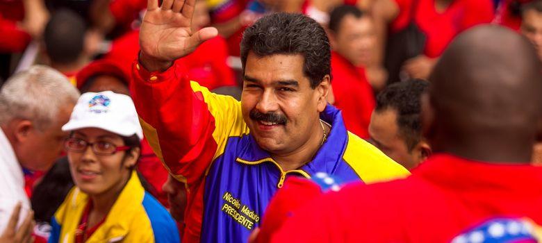 Foto: El presidente de Venezuela, Nicolás Maduro, participa en un acto conmemorativo al fallecido mandatario Hugo Chávez (EFE)