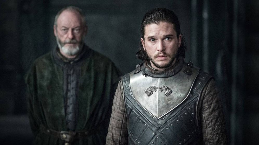Foto: Imagen del tercer capítulo de la séptima temporada con Jon Nieve llegando a Rocadragón