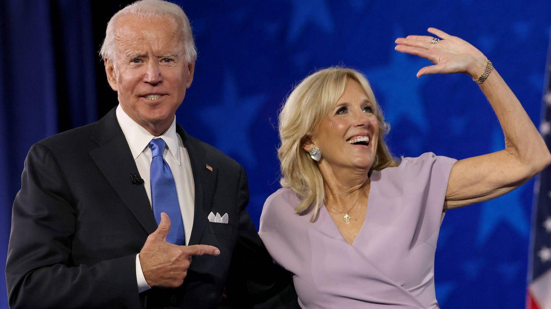 Joe y Jill Biden. (Getty)