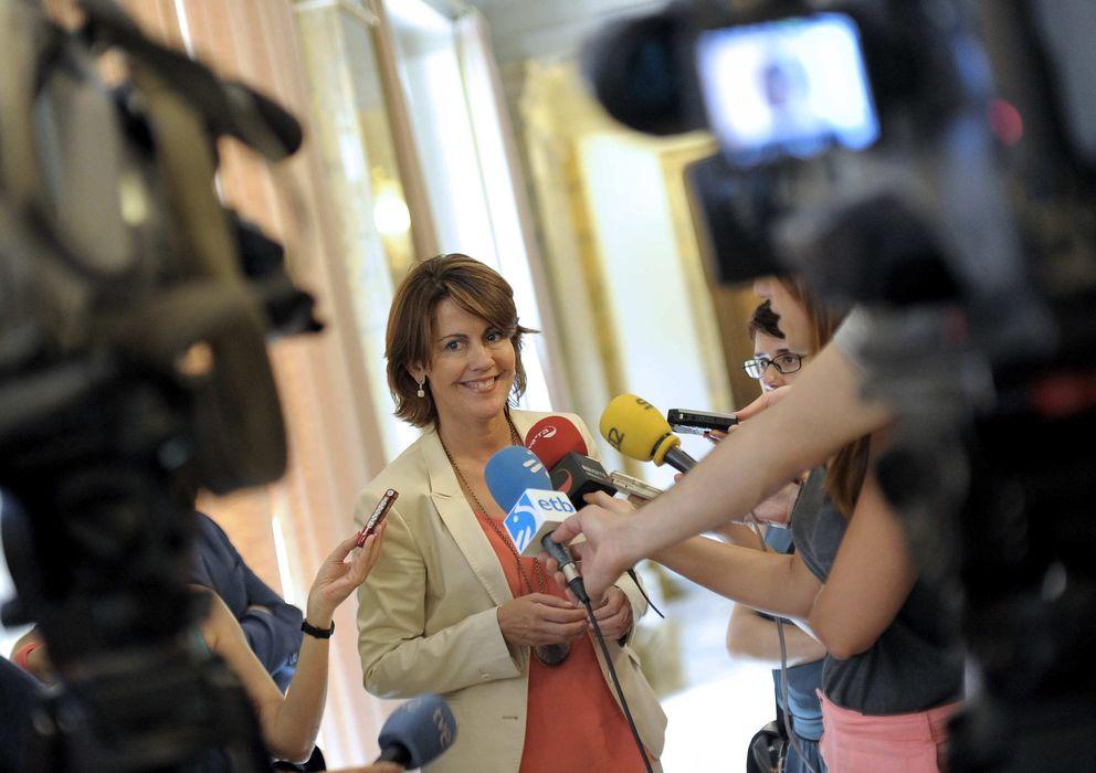 Foto: a presidenta del Gobierno de Navarra, Yolanda Barcina (Efe)