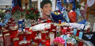 Post de Paula Dapena, la jugadora que no homenajeó a Maradona: