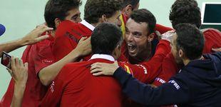 Post de España, del abismo en la Copa Davis a encontrar por fin brotes verdes