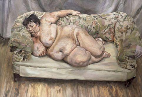Foto: Una obra de Lucian Freud establece un récord en Christie's para un artista vivo