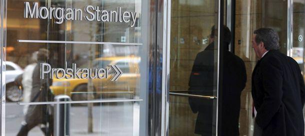 Foto: Vista de una sucursal bancaria Morgan Stanley, en Nueva York. (EFE)