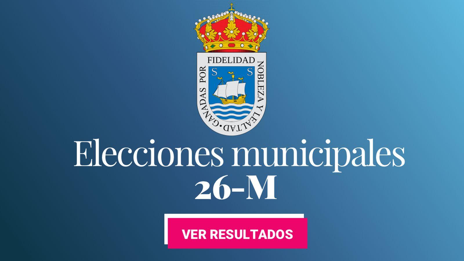 Foto: Elecciones municipales 2019 en San Sebastián. (C.C./EC)