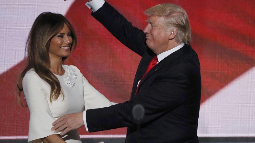 Foto: Melania y Donald Trump
