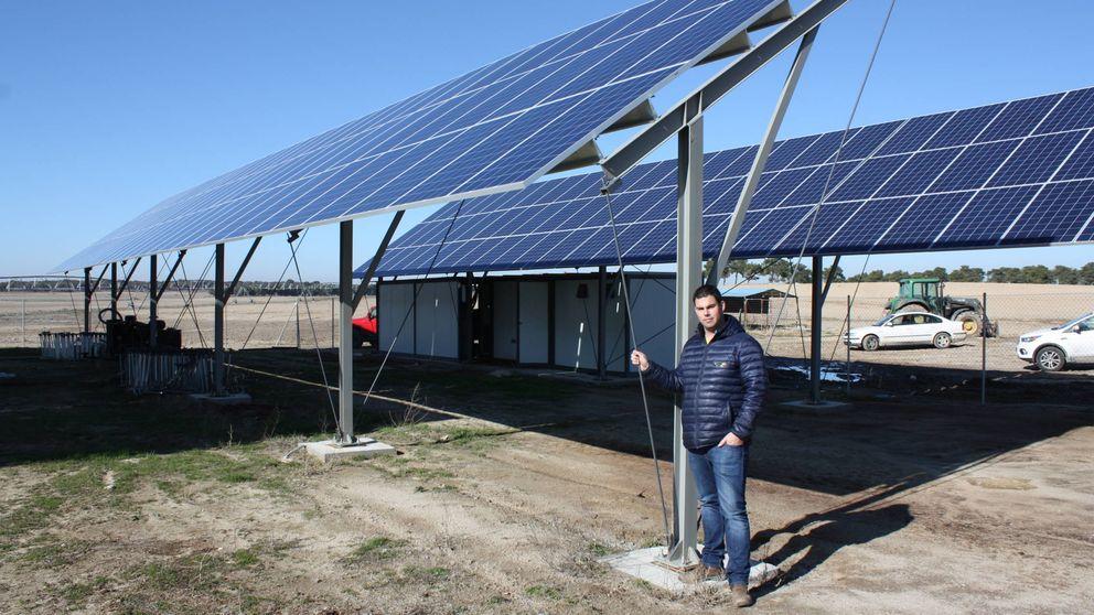 El renacer renovable viene del campo: Con placas solares ya casi no uso gasoil