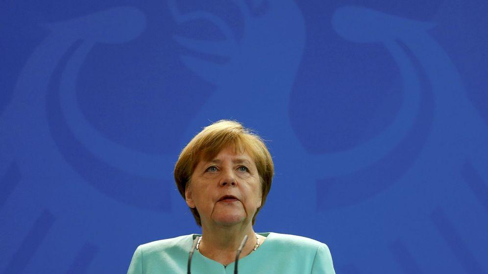 Foto: Angela Merkel durante una rueda de prensa en Berlín en junio de 2016 (Reuters)