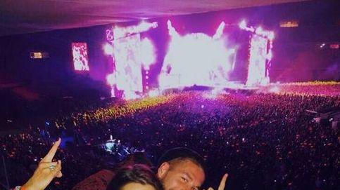 Pilar Rubio cumple su sueño junto a Sergio Ramos en el concierto de AC/DC