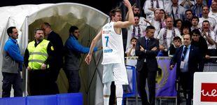 Post de El Real Madrid sobrevive a la expulsión de Doncic y acaba aplastando al Valencia
