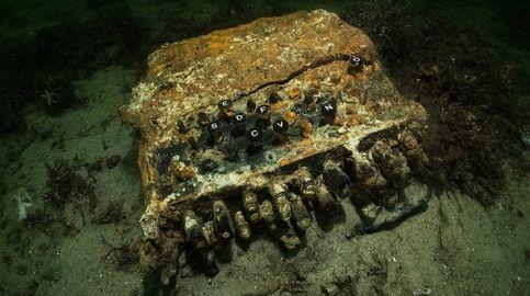 Encuentran la última máquina Enigma, el código nazi, en el fondo del mar Báltico