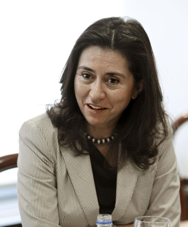 Foto: María Ángeles Alarcó, exmujer de Rato, en una imagen de archivo. (EFE)